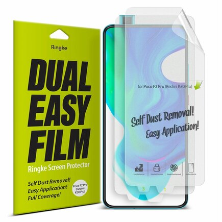 Dual Easy Film 2x ochranná fólie Xiaomi Redmi K30 Pro / Poco F2 Pro (ESXI0006)
