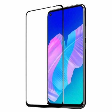 Dux Ducis 9D Tempered Glass odolné tvrzené sklo 9H na celý displej s rámem Huawei P40 Lite E černé (case friendly)