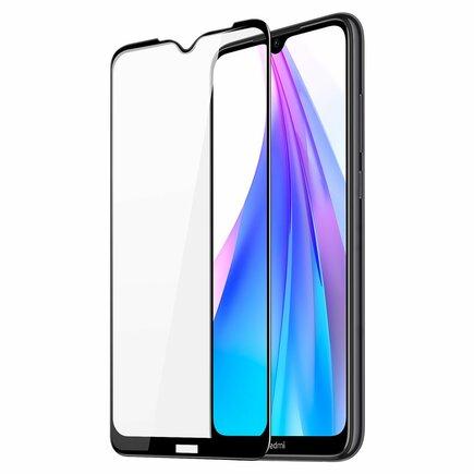 Dux Ducis 9D Tempered Glass odolné tvrzené sklo 9H na celý displej s rámem Xiaomi Redmi Note 8T černé (case friendly)