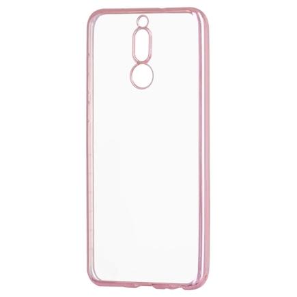 Gelové pouzdro Metalic Slim Huawei Mate 10 Lite růžové