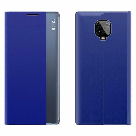 New Sleep Case pouzdro s klapkou s funkcí podstavce Xiaomi Redmi Note 9 Pro / Redmi Note 9S modré