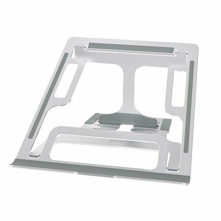 Nillkin FlexDesk skládaný podstavec pro notebook MacBook stříbrný