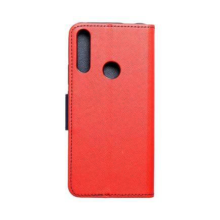 Pouzdro Fancy Book Huawei P Smart Z / Y9 Prime 2019 červené/tmavě modré