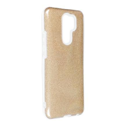Pouzdro Shining Xiaomi Redmi 9 zlaté