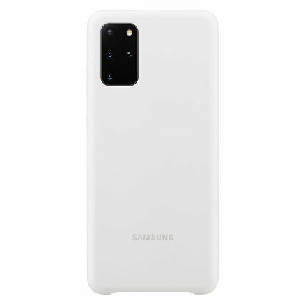 Samsung Silikonové pouzdro pro Galaxy S20+ bílé (EU Blister)