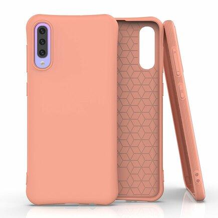 Soft Color Case elastické gelové pouzdro Samsung Galaxy A50s / Galaxy A50 / Galaxy A30s oranžové