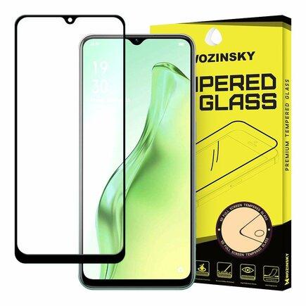 Wozinsky super odolné tvrzené sklo Full Glue na celý displej s rámem Case Friendly Oppo A31 černé