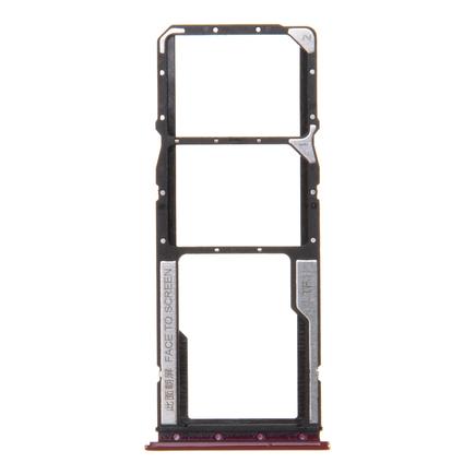 Xiaomi Redmi 8 Držák SIM a Pam.Karty červený