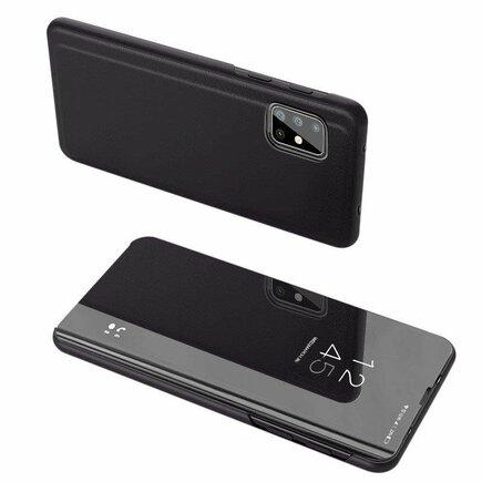 Clear View Case pouzdro s klapkou Samsung Galaxy M31s černé