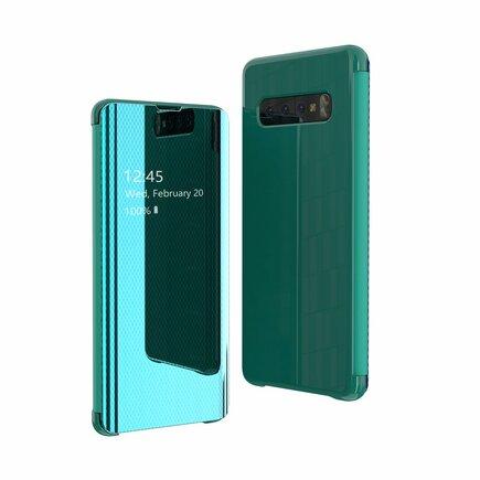 Flip View pouzdro s klapkou Samsung Galaxy S10 Plus zelené