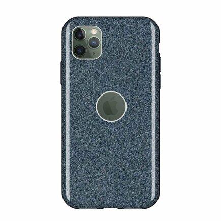 Glitter Case lesklé pouzdro s brokátem iPhone 11 Pro Max černé