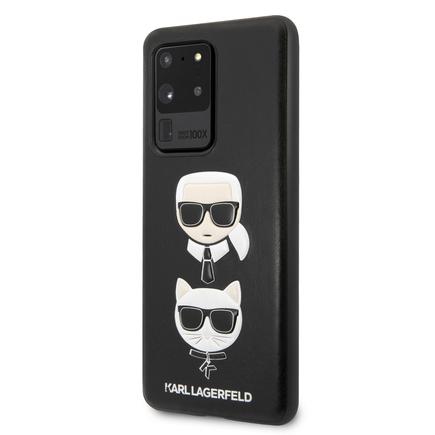 Karl & Choupette Head Pouzdro pro Samsung Galaxy S20 Ultra