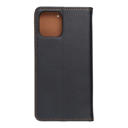 Kožené pouzdro Forcell Smart Pro iPhone 13 Mini černé