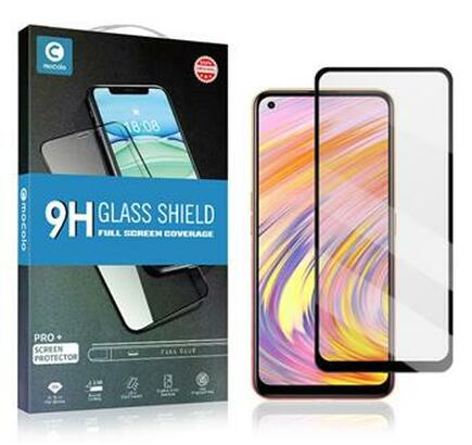 Mocolo 5D Tvrzené Sklo černé pro Samsung Galaxy A20s
