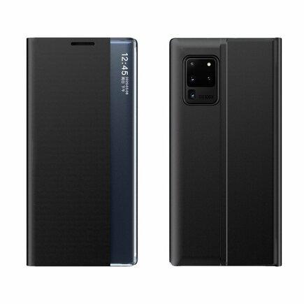 New Sleep Case pouzdro s klapkou s funkcí podstavce Samsung Galaxy M51 černé