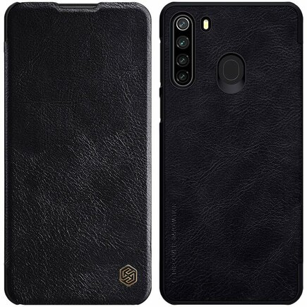 Nillkin Qin kožené pouzdro Samsung Galaxy M21 černé
