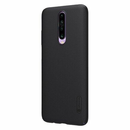Nillkin Super Frosted Shield zesílené pouzdro + podstavec Xiaomi Redmi K30 černé