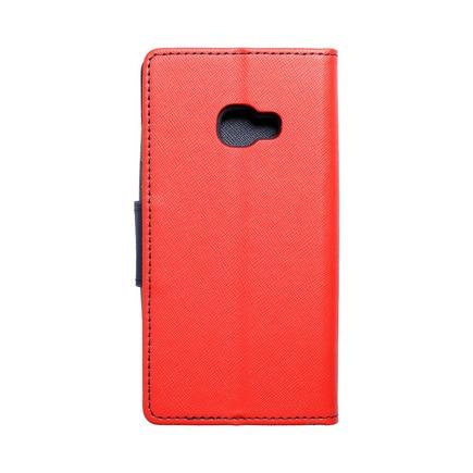 Pouzdro Fancy Book Samsung Xcover 4 červené/tmavě modré