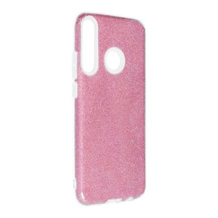 Pouzdro Shining Huawei P40 Lite E růžové