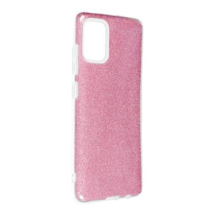 Pouzdro Shining Samsung Galaxy A51 růžové