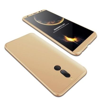 Pouzdro na přední i zadní část telefonu 360 Huawei Mate10 Lite zlaté