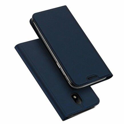 Skin Pro pouzdro s klapkou Samsung Galaxy J3 2017 J330 modré