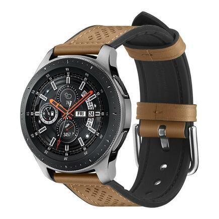 Spigen Pásek Retro Fit Band Galaxy Watch 46mm hnědé