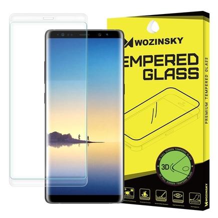 Tvrzené sklo 3D přes celý displej s rámem Samsung Galaxy Note 8 N950 průsvitné
