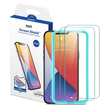 Tvrzené sklo Screen Shield iPhone 12 / 12 Pro průsvitné - 2 pack