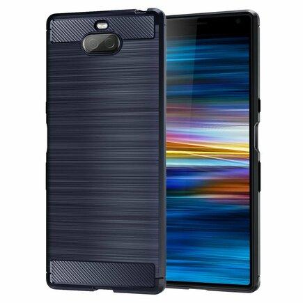Carbon Case elastické pouzdro Sony Xperia 10 modré