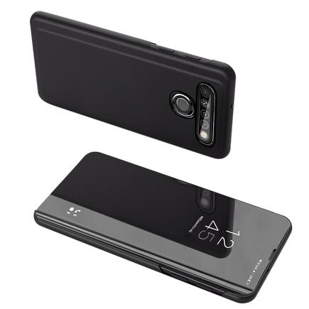 Clear View Case pouzdro s klapkou LG K61 černé