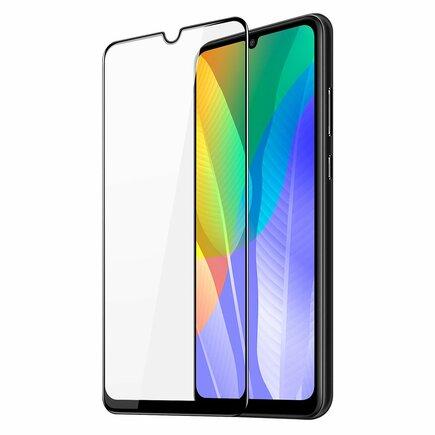 Dux Ducis 9D Tempered Glass odolné tvrzené sklo 9H na celý displej s rámem Huawei Y6p černé (case friendly)