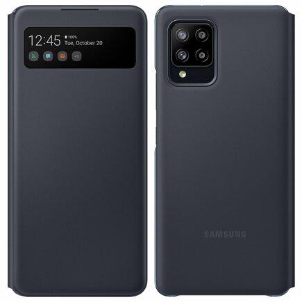 EF-EA426PBE Samsung S-View Pouzdro pro Galaxy A42 Black