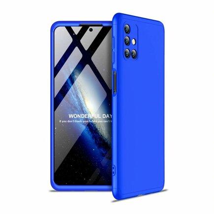 GKK 360 Protection Case pouzdro na přední i zadní část telefonu Samsung Galaxy M31s modré