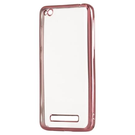 Gelové pouzdro Metalic Slim Xiaomi Redmi 4A růžové