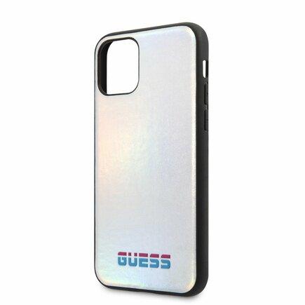 Iridescent Pouzdro pro iPhone 11 Pro Max stříbrné (EU Blister)