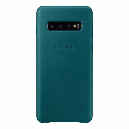 Leather Cover kožené pouzdro Samsung Galaxy Note 20 Ultra zelené
