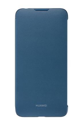 Originální Folio Pouzdro modré pro Y7 2019 (EU Blister)