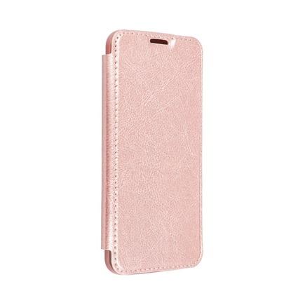 Pouzdro Electro Book Xiaomi Redmi 8 růžově-zlaté