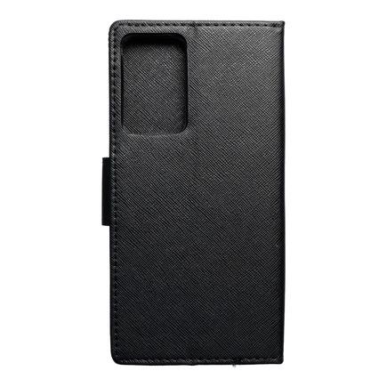Pouzdro Fancy Book Samsung Note 20 Plus černé