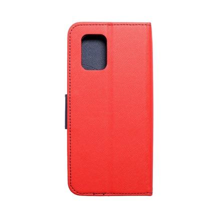 Pouzdro Fancy Book Xiaomi Mi 10T Lite červené/tmavě modré