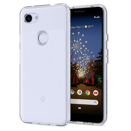 Pouzdro Liquid Crystal Google Pixel 3A průsvitné