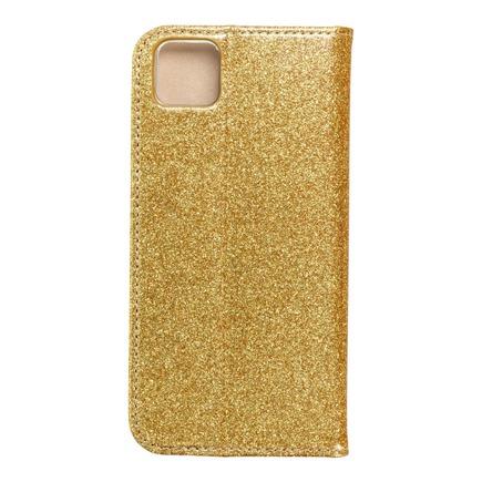 Pouzdro Shining Book Huawei Y5p zlaté