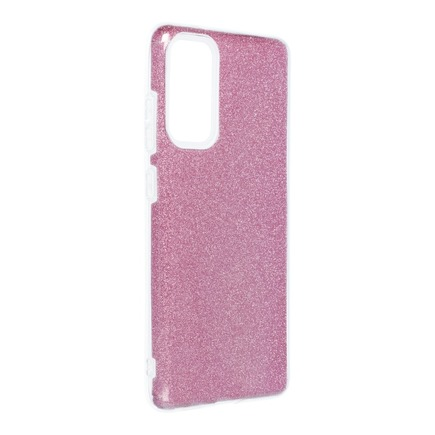 Pouzdro Shining Samsung Galaxy S20 FE / S20 FE 5G růžové