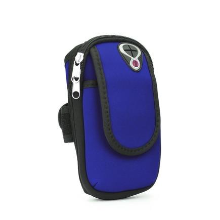 Sportovní pouzdro na rameno FULL CLOSE modré