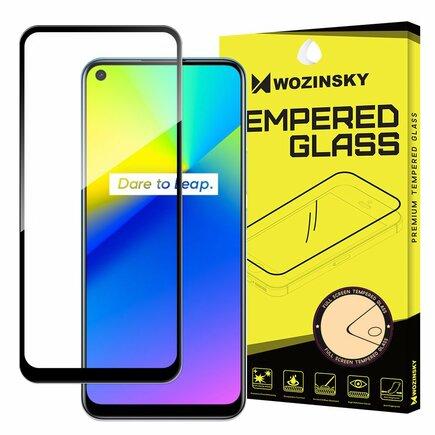 Wozinsky superpevné Full Glue tvrzené sklo přes celou obrazovku s rámečkem Case Friendly Realme 7i černé
