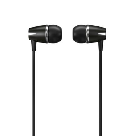 Y6 sluchátka 3.5mm mini jack s ovládáním černá (Y6 black)