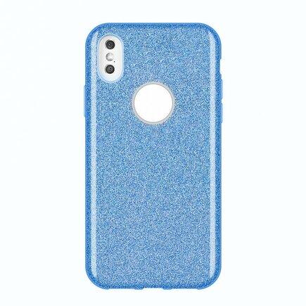 Glitter Case lesklé pouzdro s brokátem Huawei Mate 30 Lite modré