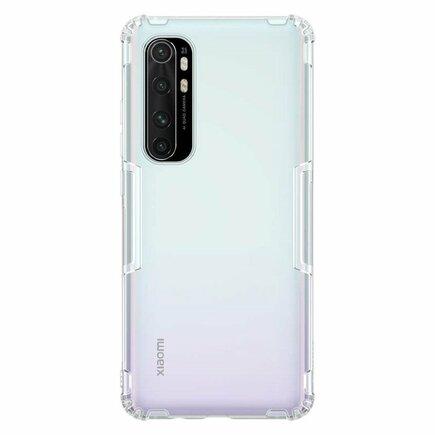 Nillkin Nature gelové pouzdro ultra slim Xiaomi Mi Note 10 Lite průsvitné