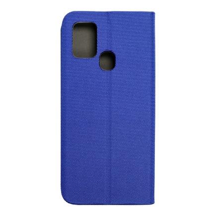 Pouzdro Sensitive Book Samsung A21s modré